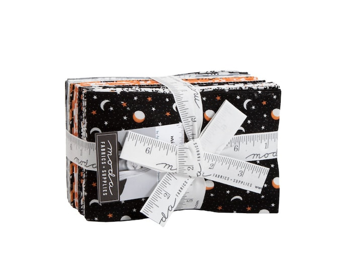 Midnight Magic - April Rosenthal - Moda - 26 Pieces - Fat Eighth Bundle - 24080F8