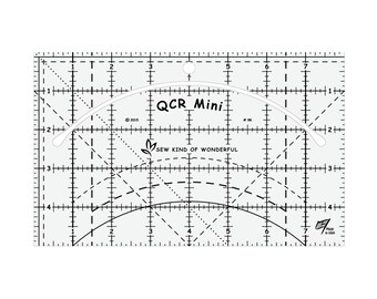Ruler - MINI Quick Curve - Sew Kind of Wonderful