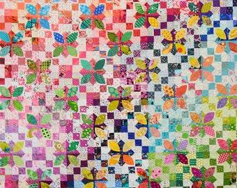Minx Quilt Pattern - Michelle McKillop - Jen Kingwell Designs Collective - JKD 8410