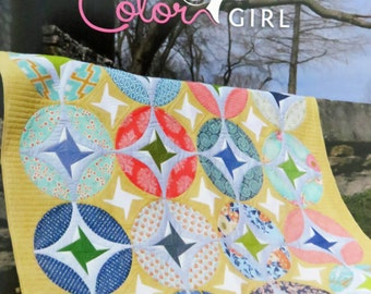 Eclipse Quilt Pattern - Color Girl Quilts - Sharon McConnell - CG1502