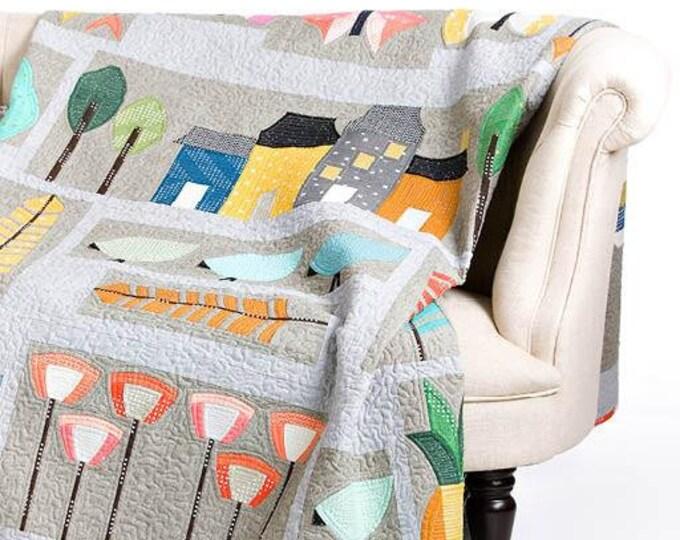 Urbanologie Sampler Quilt Pattern - Block of the Month - Sew Kind of Wonderful - SKW 419 - QCR Pattern