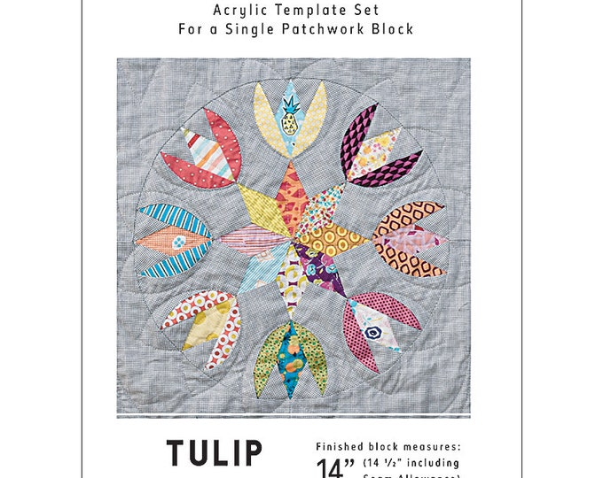 Tulip Star - Tempter Templates - Jen Kingwell - JKD 8335