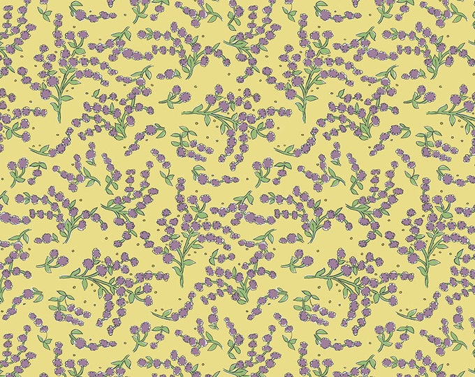 SALE!! 1/2 Yard - Color Fusion - Alyssum - Yellow - Laura Heine - Freespirit - Fabric Yardage - PWLH019.YELLOW