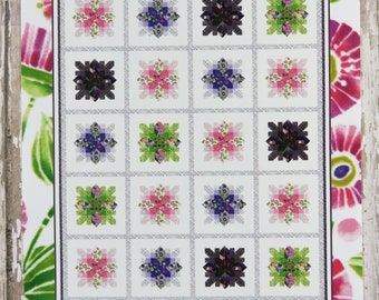 Spring is Here Quilt Pattern Fabric Kit - Moda - Robin Pickens - Sweet Pea & Lily