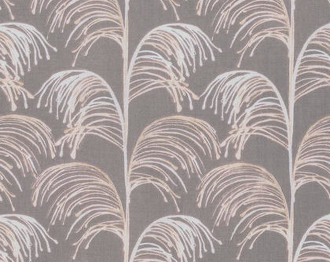 SALE!! 1/2 Yard - Quiet Moments - Beach Grass - Mother of Pearl - Shell Rummel - Coats Fabric - PWSR012.8MOTH