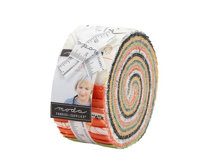 Quotation - Zen Chic - Moda - 40 Strips - Jelly Roll - 1730JR