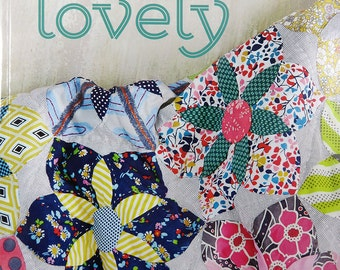 Quilt Lovely - Jen Kingwell - Piecing - Applique - Quilts - Pillows - T1091