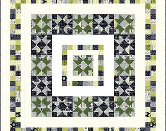 Authentic Star Quilt Pattern - Sweetwater - Authentic Etc. - Moda - SW P252