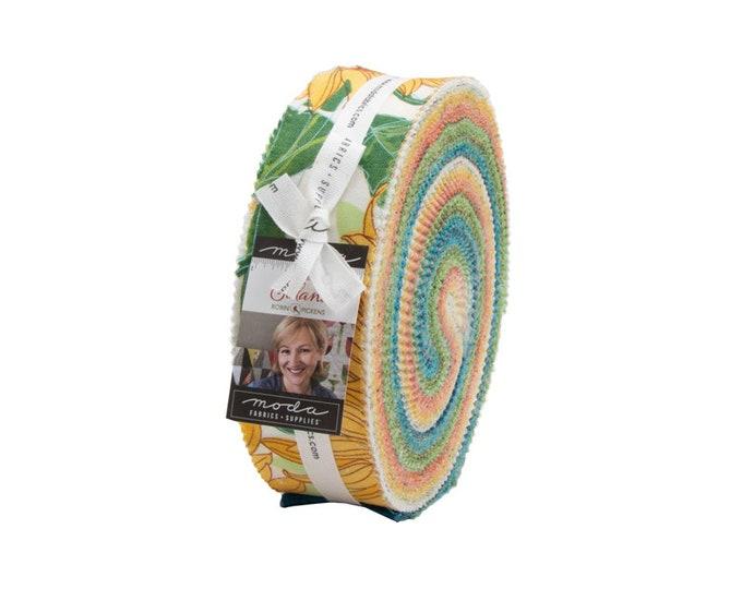 Solana - Robin Pickens - Moda - 40 Strips - Honey Bun - 48680HB