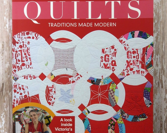 Double Wedding Ring Quilts - 13 Modern Double Wedding Ring Quilts - Victoria Findlay Wolfe - 11100 - C & T Publishing