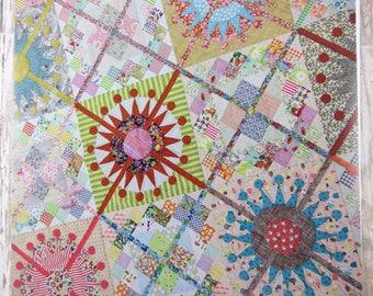 Queens Cross - Acrylic Templates - Pattern Included - Jen Kingwell - JKD 5958