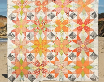 Out on the Patio Quilt Pattern - Louise Pappas - Jen Kingwell Designs - JKD 8694