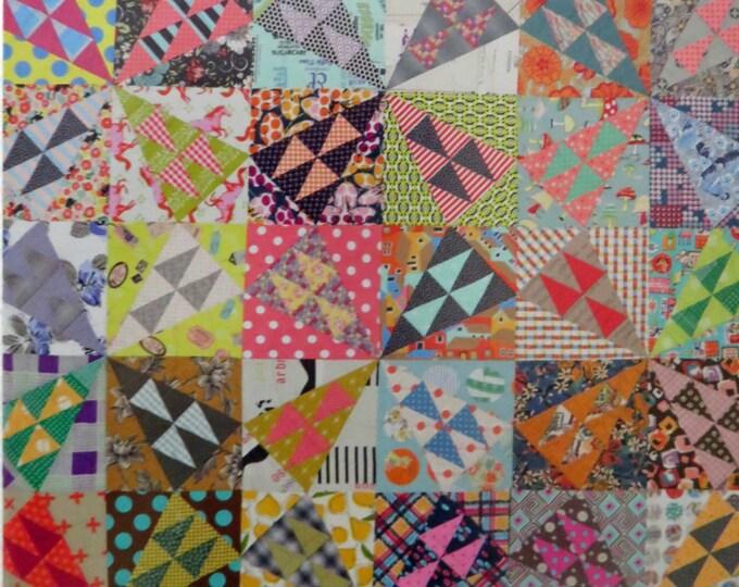 A Wild Ride Quilt Pattern - Jen Kingwell Designs - JKD 5224