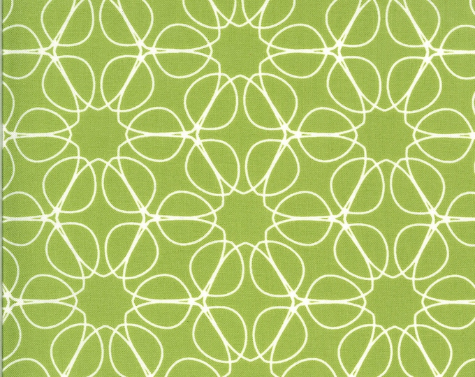 1/2 Yard - Quotation - Pistachio - Zen Chic - Moda - Fabric Yardage - 1733 19