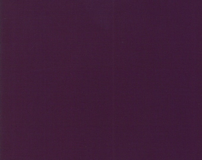1/2 Yard - Bella Solids - Moda Classic - Prune - Moda - Fabric Yardage - 9900-238