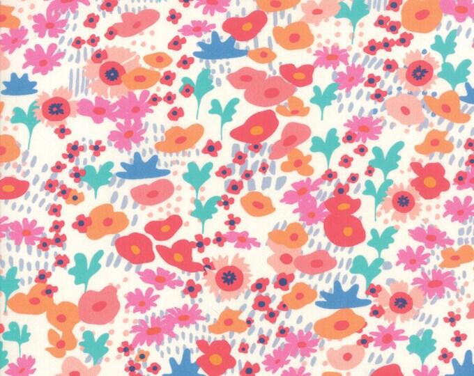 1/2 Yard - Botanica - Bijou - Porcelain - Crystal Manning - Moda - Fabric Yardage - 11841 11