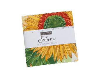 Solana - Robin Pickens - Moda - 42 Pieces - Charm Pack - 48680PP