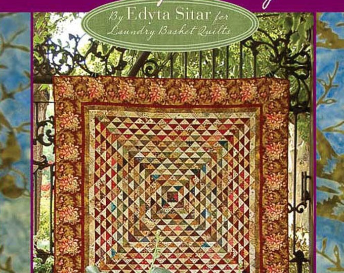Friendship Triangles - Edyta Sitar - Laundry Basket Quilts - Triangle Quilts - LAN 4095