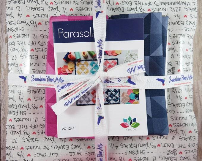 Parasol Mini Quilt Pattern and Fabric Kit - V and Co - Vanessa Christenson - Moda - VC 1244
