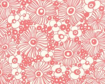 Sale!! 1/2 Yard - Botanica - Mariposa - Porcelain - Crystal Manning - Moda - Fabric Yardage - 11842 11