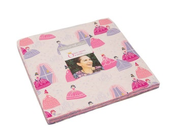 """Once Upon A Time - Stacey Iest Hsu - Moda - 42 Pieces - 10"""" Squares - Layer Cake - 20590LC"""