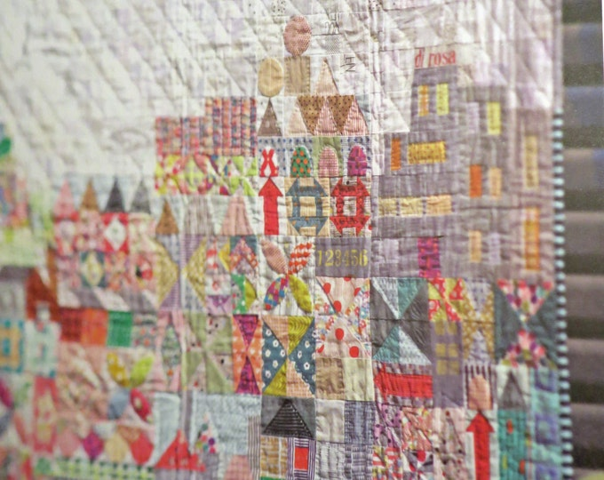 My Small World Quilt Pattern - Jen Kingwell - Jen Kingwell Designs - JKD 5248
