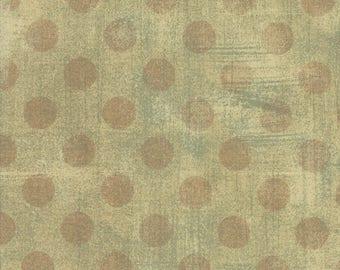 SALE!! 1/2 Yard - Grunge Hits the Spot - Tan - BasicGrey - Moda - Fabric Yardage - 30149 18
