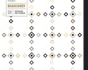Foxy Roxy Quilt Pattern - Moda - BasicGrey - Richy Lainson - BGPAT019
