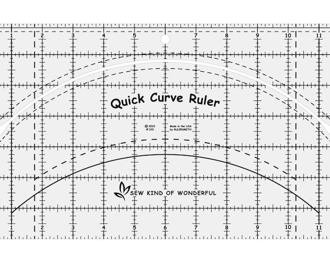 Ruler - Quick Curve - Sew Kind of Wonderful