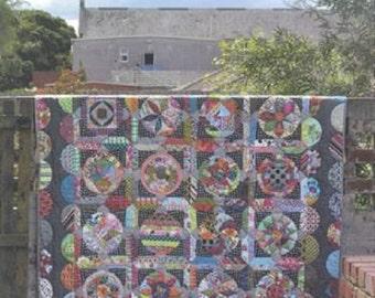 The Circle Game Quilt Pattern - Jen Kingwell - Jen Kingwell Designs - JKD 5019