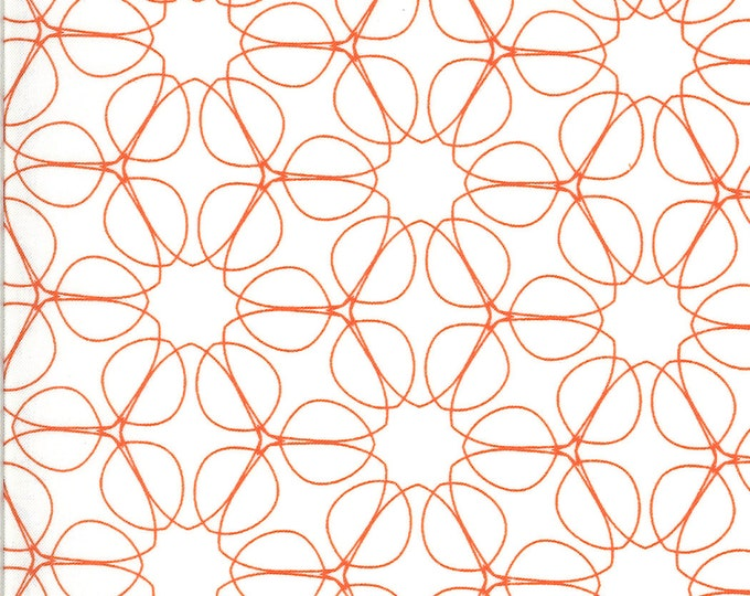 1/2 Yard - Quotation - Cream Clementine - Zen Chic - Moda - Fabric Yardage - 1733 15