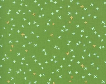 1/2 Yard - Dance in Paris - Grass - Zen Chic - Brigitte Heitland - Moda - Fabric Yardage - 1745 15M