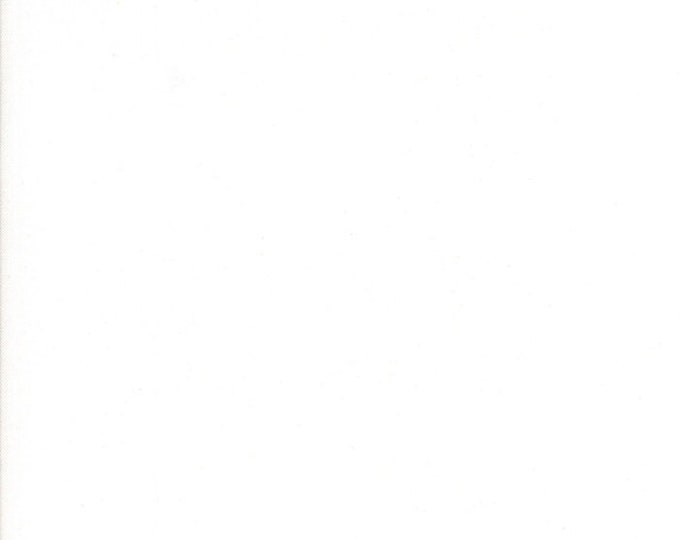 1/2 Yard - Bella Solids - Moda Classic - Bleached White PFD - Moda - Fabric Yardage - 9900 97