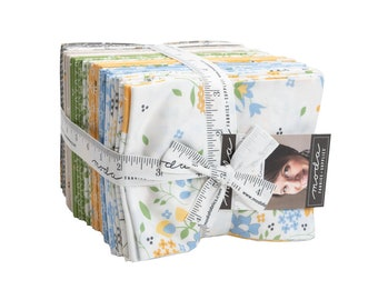 Spring Brook - Cory Yoder - Little Miss Shabby - Moda - 34 Pieces - Fat QUARTER Bundle - 29110AB