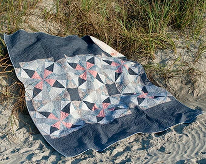 Moonlight Quilt Pattern Fabric Kit - FreeSpirit - Shell Rummel - Quiet Moments