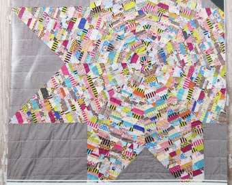 Lawn Star Quilt Pattern - Acrylic Templates - Jen Kingwell - JKD 5415 - Jenny from One Block Book