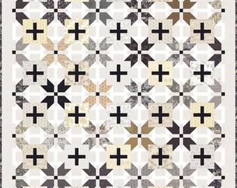 Stilleto Quilt Kit - Silver Linings - Basicgrey - Richy Lainson - Moda Fabrics - KIT30610