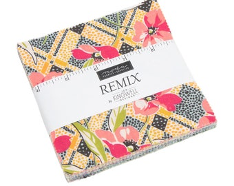 Remix - Jen Kingwell - Moda - 42 Pieces - Charm Pack - 18160PP
