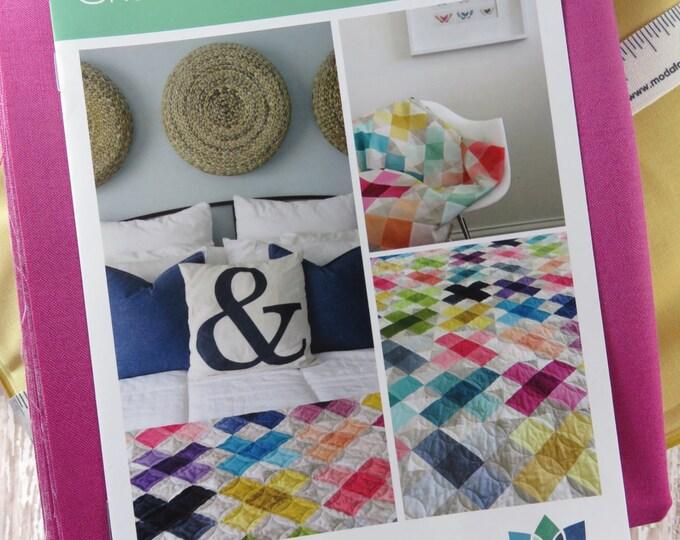 Criss Cross Applesauce Quilt Pattern Fabric Kit - Moda - V and Co - Vanessa Christenson - VC1232