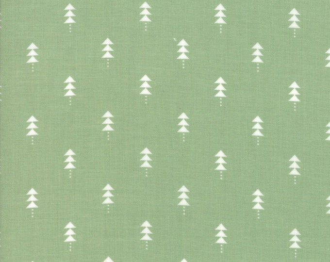 1/2 Yard - Little Tree - Pine - Lella Boutique - Moda - Fabric Yardage - 5094 12