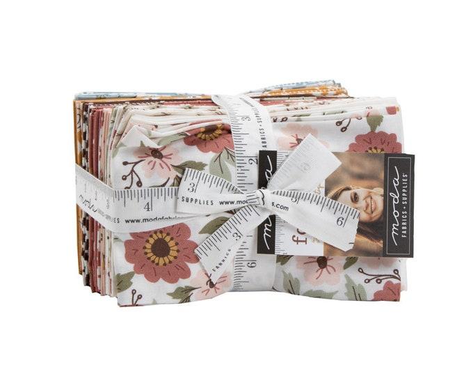 Folktale - Lella Boutique - Moda - 34 Pieces - Fat Eighth Bundle - 5120F8