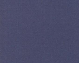 1/2 Yard - Bella Solids - Moda Classic - Indigo - Moda - Fabric Yardage - 9900 218