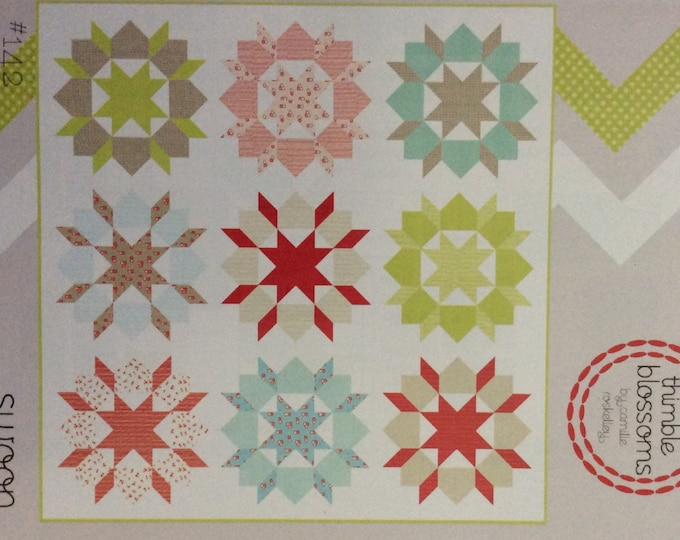 Swoon Quilt Pattern - Camille Roskelley - Thimble Blossoms - TB #142