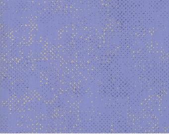 1/2 Yard - Chill Spotted - Steel Blue - Zen Chic - Brigitte Heitland - Moda - Fabric Yardage - 1660 126M