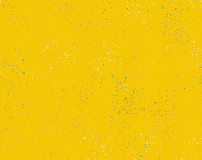 1/2 Yard - Speckled Metallic - Sunshine - Rashida Coleman Hale - Ruby Star Society - Moda - Fabric Yardage - RS5027 71M