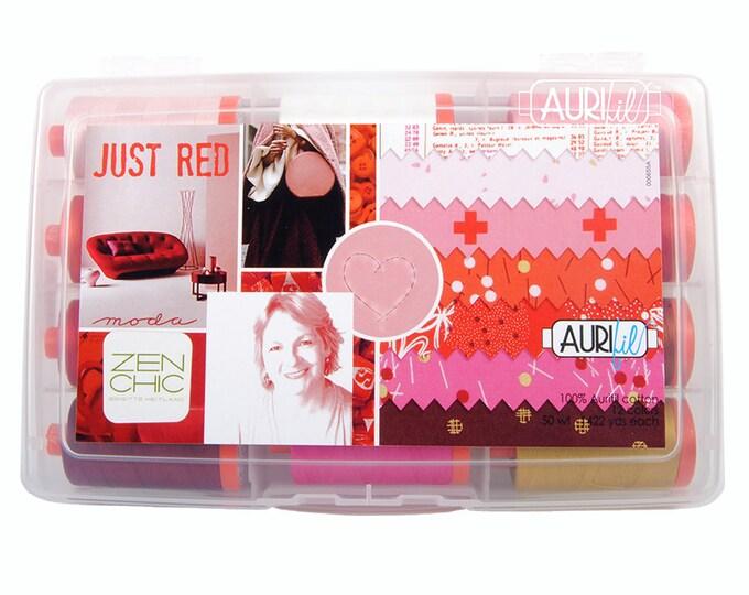 Just Red Thread Kit - Zen Chic - Aurifil - BH50JR12