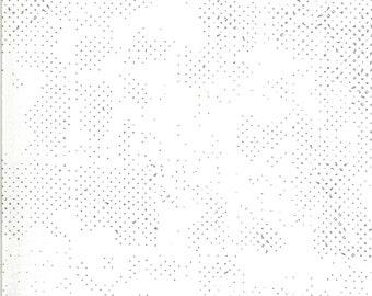 1/2 Yard - Quotation - Spotted - Cream - Zen Chic - Moda - Fabric Yardage - 1660 132