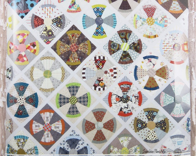Steam Punk Quilt - Acrylic Templates - Jen Kingwell - JKD 5903