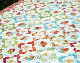 Garden Jewels Quilt Pattern - Amanda Murphy - Amanda Murphy Design - AMD 013
