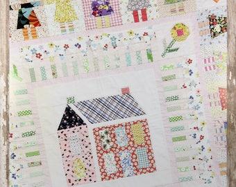 Girl Next Door Quilt Pattern - Jen Kingwell Designs - Louise Papas - JKD 5774